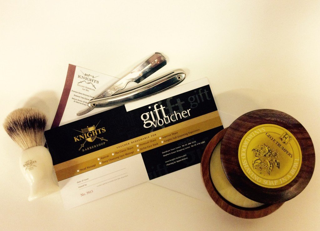 Image for Knights Premium Hot Towel Shave Experience Gift Voucher