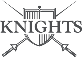 Logo for Knights Barbers